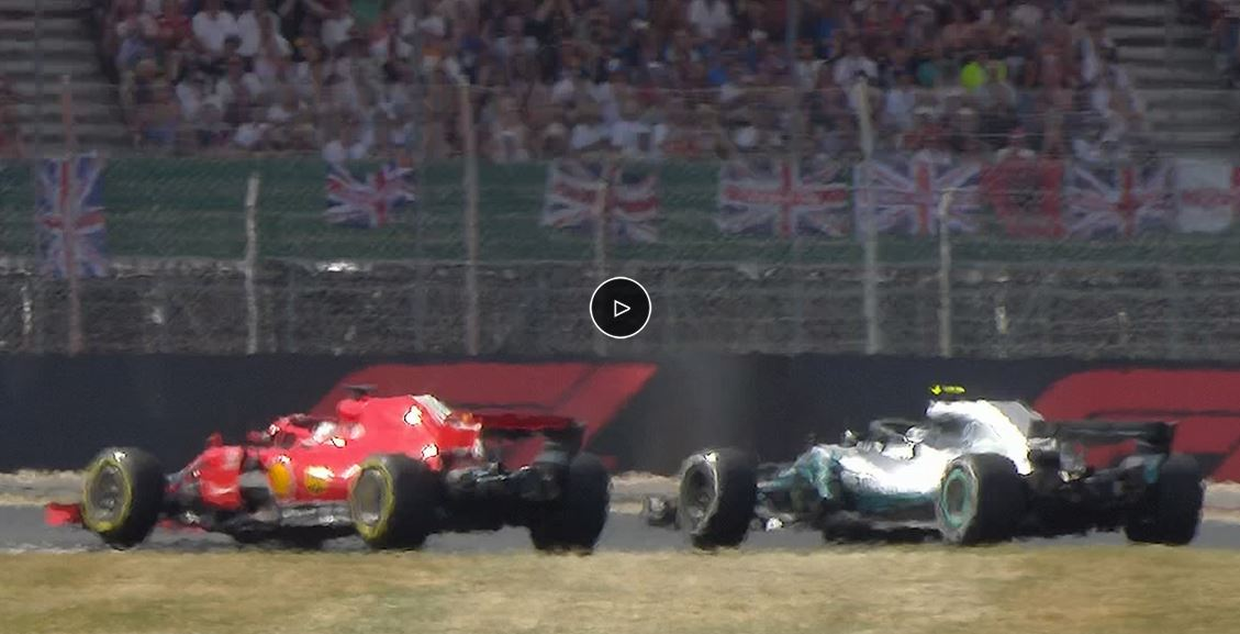 Video: Sebastian Vettel předjíždí Valtteriho Bottase