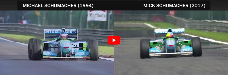 Video: Mick Schuamcher s Benettonem B194 svého otce ve Spa