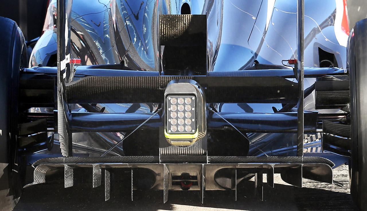 sauber c32 diffuser