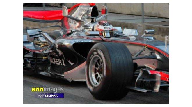 Kimi Räikkönen za svých dob u McLarenu