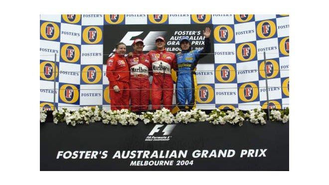 Barrichello - Schumacher M. - Alonso