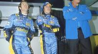 Trulli - Alonso - Briatore