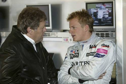 Když jsme Kimiho zpovídali pro náš tehdejší časopis, také jezdil u Sauberu jako dnes (ilustrační foto)