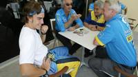 Alonso - Briatore - Dupasquier - Symonds