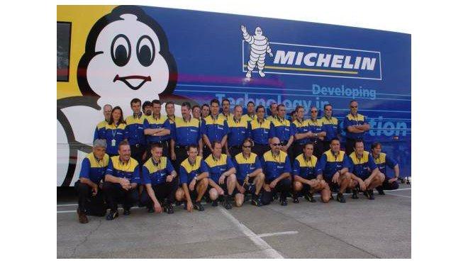 Tým Michelin je připravený na závod ve Fuji