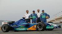 Rampf - Massa - Sauber - Villeneuve