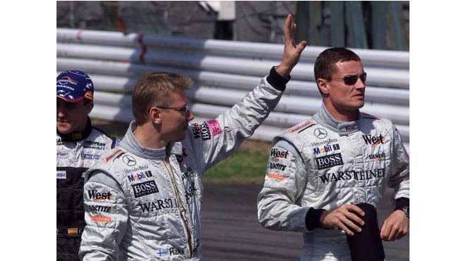 Häkkinen - Coulthard