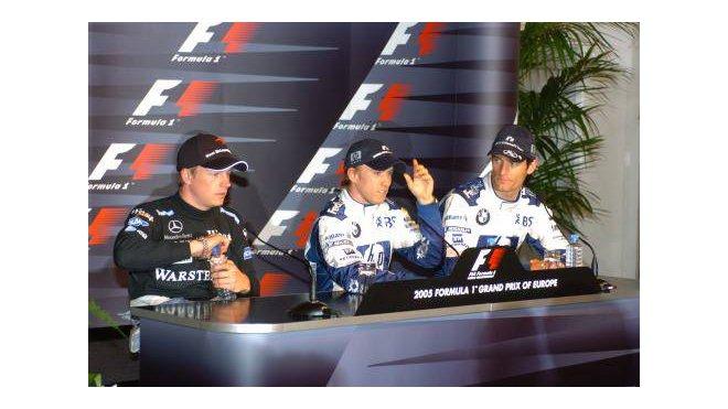 Räikkönen - Heidfeld - Webber