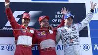 Schumacher M. - Barrichello - Raikkonen