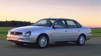 K sedanu Ford Scorpio není ani mnoho co řící. Jedná se zkrátka o příklad jak by neměl vypadat vyšší třídy. Za zmínku stojí fakt, že prodloužená verze tohoto modelu byla oblíbená u pohřebních služeb. Pravděpodobně měla za úkol odlehčit pochmurnou náladu na pohřbu svým vzhledem.