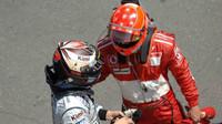 Räikkönen - Schumacher M.