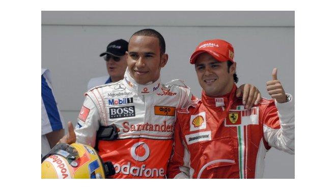 Hamilton - Massa