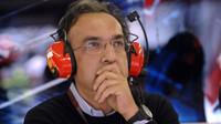 Marchionne: Bolí mě duše, když Ferrari trpí - anotačno foto