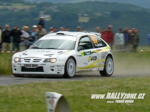 Garrat Jones Rally Bohemia