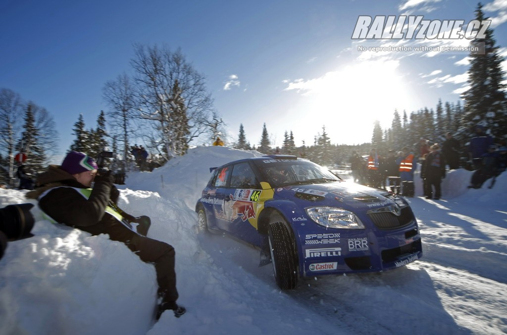 Patrik Sandell Norská Rally