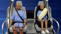 Koncept pásových airbagů