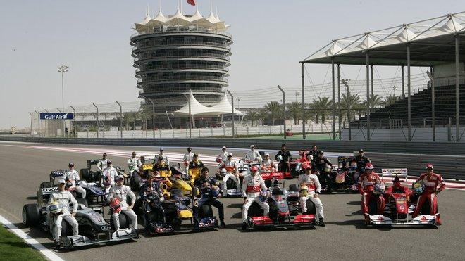 Jak bude vypadat startovní rošt v Bahrajnu? - anotačné foto
