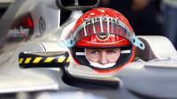 Lež, jízda na kole a rychlý konec: To byl debut Michaela Schumachera ve Spa - anotační foto