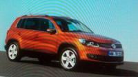 VW utekl snímek Tiguanu 2011 - anotační foto