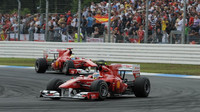 Grand Prix Německa - pro Massu jeden z klíčových momentů jeho kariéry