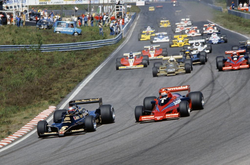Lotus a Brabham, klasika dřívějších let F1