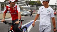 Massa zavzpomínal na doby, kdy mu pomáhal Michael Schumacher (ilustrační foto)