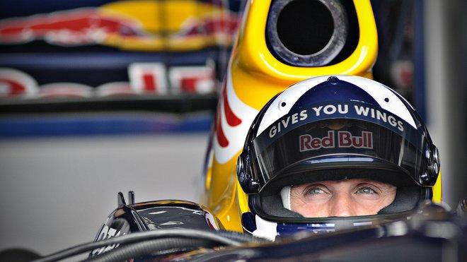 David Coulthard odjel za Red Bull 71 Grand Prix