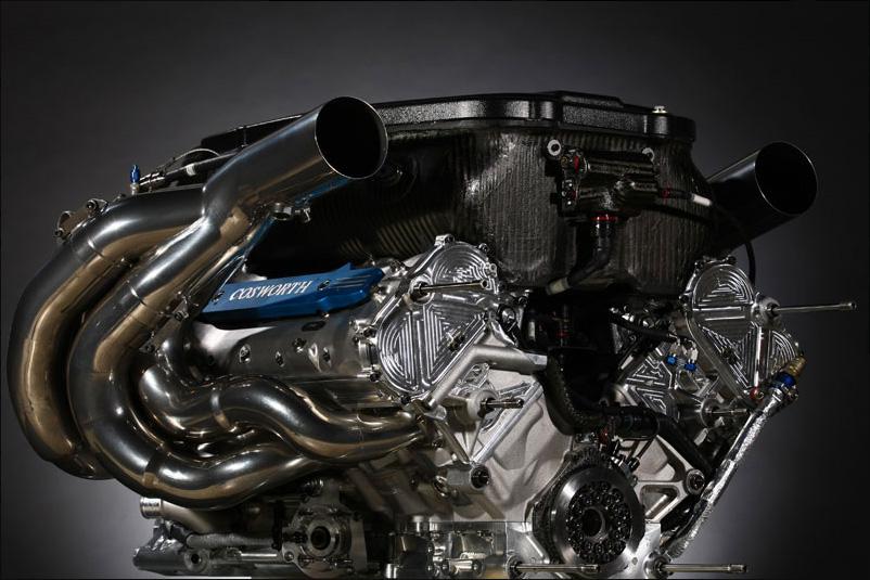 F1 atmosférický motor Cosworth
