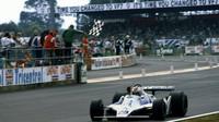 Clay Regazzoni při svém posledním vítězství v roce 1979
