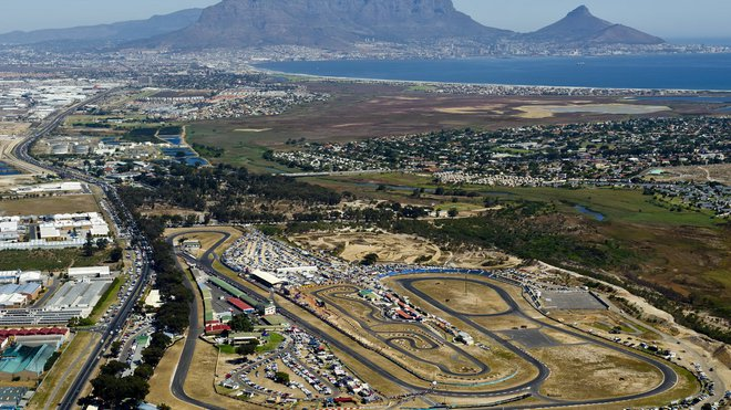 Jihoafrický okruh nedaleko Kapského města