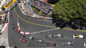 GRAFIKA: Startovní rošt v Monaku - Mercedesy z 1. řady, Leclerc doma až 16. - anotační obrázek
