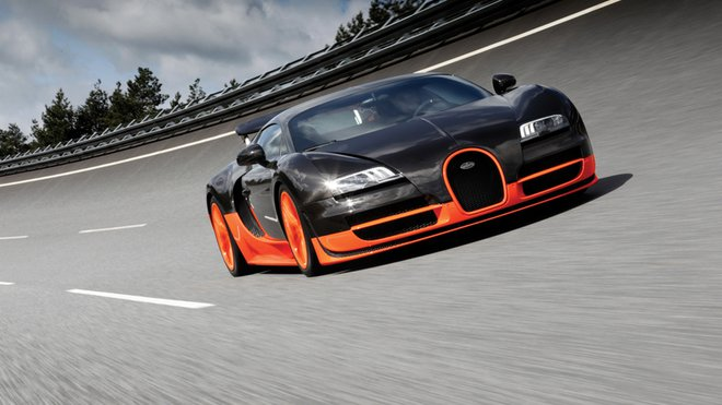 e6ce4231961 Bugatti Veyron 16.4 SuperSport dosiahlo rýchlosť 430 km hod ...