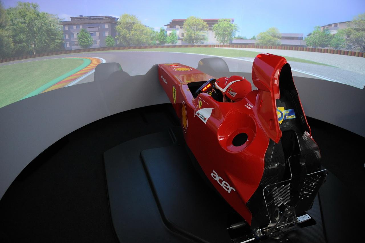 Simulátor Ferrari