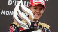 Sebastian Vettel a dvanáct let starý snímek...