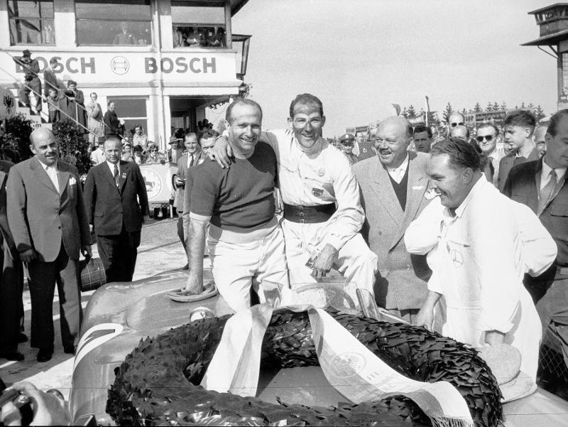 Fangio a Moss - ti dva byli na téměř stejné úrovni...