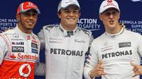 Rosberg srovnává velikány. V čem vynikal Schumacher a v čem Hamilton? - anotační obrázek