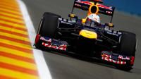Odpoledne ve Valencii udával tempo Vettel, De la Rosa boural - anotační foto