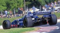 Damon Hill v Argentině - Williams zde vyhrál v letech 1995 - 1997 třikrát po sobě