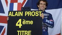 Alain Prost byl posledním, kdo vyhrál na Le Castellet závod F1 (ilustrační foto)
