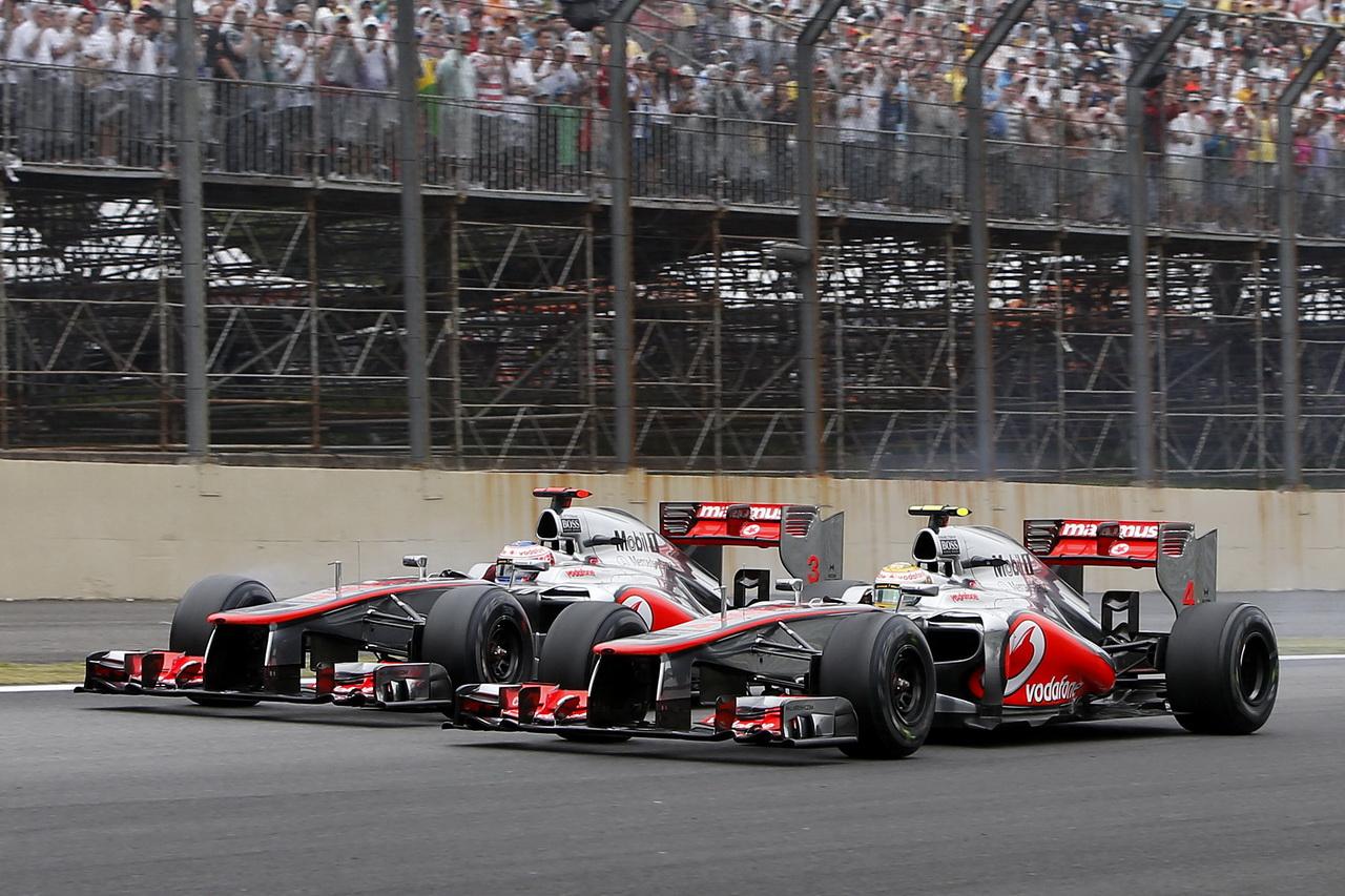 McLaren a vítězná GP Brazílie 2012 - potom přišel půst trvající 170 Grand Prix