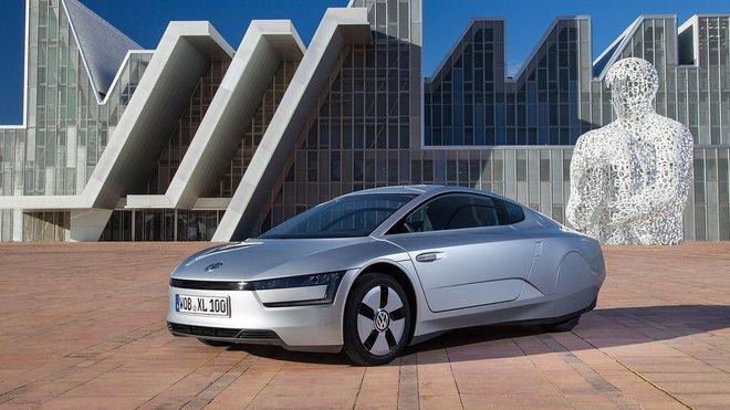 Hybridní Volkswagen XL1