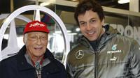 Lauda a Wolff se upsali na další čtyři roky