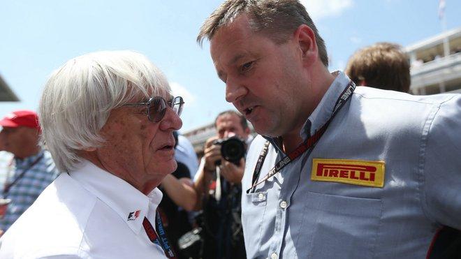 Pirelli už jsem vyřešil, teď ještě motory... Bernie Ecclestone si chce možná dát dárek k narozeninám
