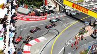 Start závodu Formule 1 v Monte Carlu