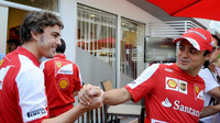 Massa prozradil, co probíhalo mezi ním a Alonsem těsně před VC Mexika - anotační foto