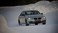 Očištěný vůz od sněhu a ledu