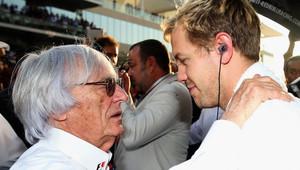 Co by měl udělat Sebastian Vettel? Ecclestone má jasno - anotační obrázek