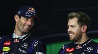 Co radí Webber Vettelovi? - anotační foto