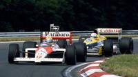 Monza 1988: Spekulace, fámy a kolize, které zhatily McLarenu fantastický rekord - anotační foto