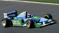 Michael Schumacher s Benettonem B194